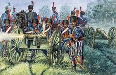 French Guard Battery - Waterloo 1815