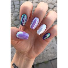 #nails #olomouc #cz #czechrepublic #nofilter #metalic #diamond #purple #beautiful #nailart