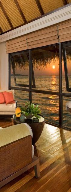 Four Seasons Resort.... The Maldives