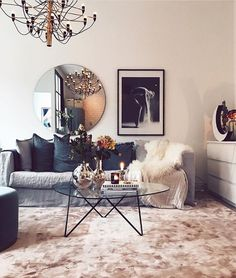 Have a nice Sunday - Architecture and Home Decor - Bedroom - Bathroom - Kitchen And Living Room Interior Design Decorating Ideas - Home Decor Bedroom, Easy Home Decor, Home Decor Inspiration, House Interior, Apartment Decor, Living Room Scandinavian, Living Room Carpet, Interior, Living Decor