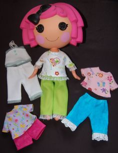 Pattern to Make your own Lalaloopsy doll clothes in time for Christmas