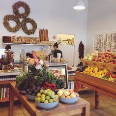 a cute lil organic market and restaurant