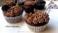 Sabrina´s  Sea of Colors: Cupcakes de oreo. Domingos Dulces