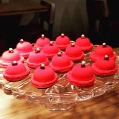 Pink Macarons Macarons, Restaurant, Desserts, Pink, Food, Brewery, Tailgate Desserts, Deserts, Diner Restaurant