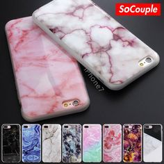2016 New Arrival Scrub Marble Stone image Painted Soft TPU Case for iphone 7 5 5s SE 6 6s 6Plus 7plus Silicone Phone Case