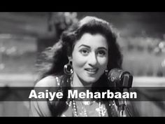 Aaiye Meharbaan - Madhubala, Ashok Kumar - Howrah Bridge - Evergreen Melodious Classic Hindi Song - YouTube Vintage Bollywood, Old Bollywood Songs, 90s Hit Songs, Lata Mangeshkar Songs, Ashok Kumar, Evergreen Songs, Indian Movie Songs, Song Hindi, Film Song