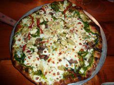 Veggie pizza from 222 Public House in Elkin, NC