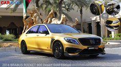 # CARICOS >> BRABUS ROCKET 900 Desert Gold Edition (2016) >> LINK + 40 FOTOS.