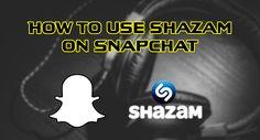 Snapchat now has Shazam builtin. #snapchat #shazam #music #android #ios +Downloadsource.net