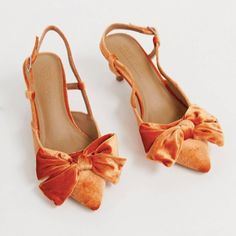 Browse online for the newest ASOS DESIGN Sherry bow kitten heels in burnt orange styles. Shop easier with ASOS' multiple payments and return options (Ts&Cs apply). Orange Wedding Shoes, Burnt Orange Weddings, Wedding Colours, Mid Heel Shoes, Shoes Heels, Bow Heels, Talons Oranges, Asos, Orange Heels