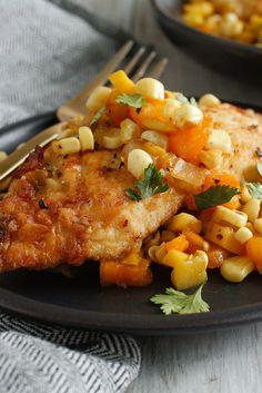 Chicken Paillards With Corn Salad Recipe - NYT Cooking