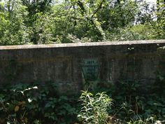 This 1917 bridge is located on a segment of the Lincoln in Schellsburg that is blocked halfway through by a house. You can pick up the road on the other side of the house but the road is a bit rough. (Photo by Jennifer Sopko)