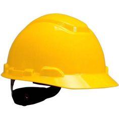 3M H700 Series Ratchet Suspension Hard Hats, Multicolor
