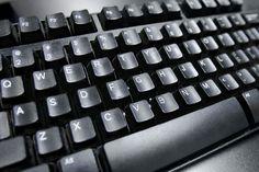 Photo of a computer keyboard