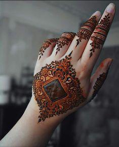 Kashee's Mehndi Designs, Pretty Henna Designs, Latest Henna Designs, Henna Tattoo Designs Simple, Mehndi Designs For Beginners, Mehndi Designs For Girls, Mehndi Design Photos, Mehndi Designs For Fingers, Finger Henna Designs