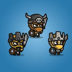 Tiny Style Character - Barbarian