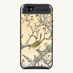 Jo Bird on Plum Branch shin hanga japanese art iPhone 5 Cases by TheGreatestTattooArt