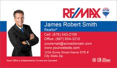 Customizable Remax Business Cards at Surefactor.com