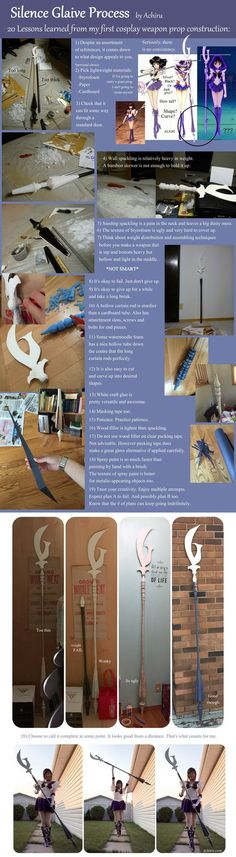20 Lessons Learned from Silence Glaive Project by Achiru-et-al.deviantart.com on @DeviantArt