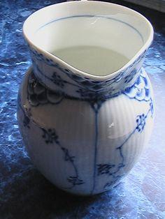 Royal Copenhagen Pitcher Blue White Porcelain Royal Copenhagen Jug Denmark 6 1 2 | eBay