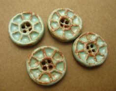 "These buttons have ""amazing #Hannah color and texture"" for Jenn Rogien's Season 2 #GIRLS costumes"