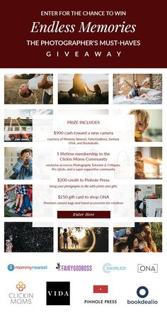 Endless Memories: The Photographer's Must-Haves - A chance to win a camera and a photography class plus to so much more. enter to win! Newborn Photography, Family Photography, Photography Tips, Fresco, Winner Winner Chicken Dinner, Look Here, Enter To Win, Photographing Kids, Baby Pictures