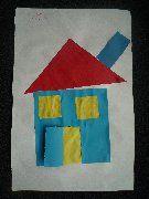 Kleuterplein -- thuis 'Huis van vormen'