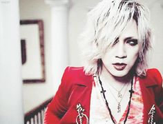 RUKI-THE GAZETTE... I'm not sure wtf this is about.... Ruki....