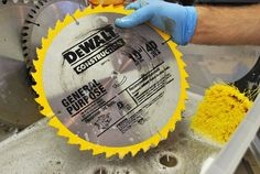 Shop Skills: How to Clean Your Saw Blades