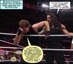 Dean gets deep.(Credit Jen J) Wrestling Memes, Watch Wrestling, Wwe Funny, The Shield Wwe, I Just Dont Care, Wwe World, Tortured Soul, Dean Ambrose, Professional Wrestling