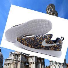 check out 5e287 4512e Autentica prezzo basso Nike Roshe Run Uomini Hyperfuse Navy Blu 3