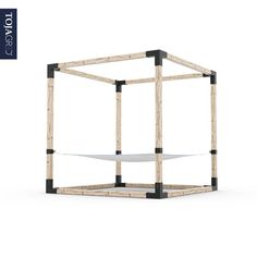 Keep it simple with our pergola kits that will allow you to create your own oasis in no time. Diy Pergola Kits, Outdoor Pergola, Backyard Patio, Backyard Ideas, Backyard Beach, Backyard Shade, Garden Ideas, Building A Pergola, Double Hammock