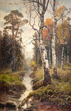 Autumn Landscape, Simeon Fedorovich Fedorov