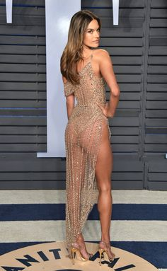 ALESSANDRA AMBROSIO I think the body is the best design  here!