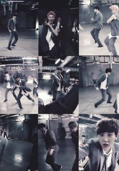 [GIF] Chanyeol's part in Growl mv