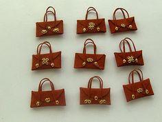 minis-onesecondlife: Malas, malinhas e maletas -Bags, little bags and...