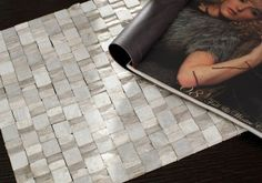 MOS2040 Mosaic Tile - Natural stone square patterned mosaic tiles in smooth/rough texture by Nova Deko are ideal for bathroom backsplash.