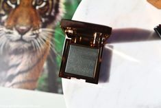 Chantecaille Luminescent Eye Shade Tiger Review Swatch