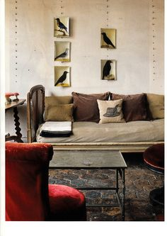 a muted palette - inwitgalerie: World of Interiors - July 2012 Beige Room, Interior And Exterior, Interior Design, Living Spaces, Living Room, World Of Interiors, Home And Living, Interior Inspiration, Sweet Home