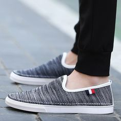 Summer Fashion Navy Blue Canvas Shoes Mens Vans Shoes, Vans Sneakers, Men's Shoes, Nike Shoes, Stylish Mens Outfits, Blue Canvas, Canvas Shoes For Men, Shoes Online, Casual Shoes