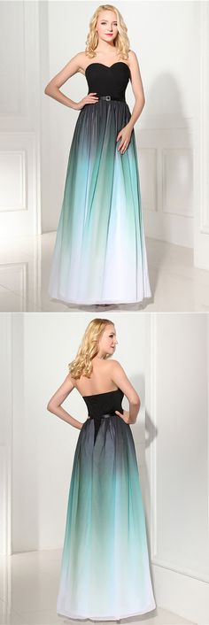 Only $99.99, Evening Dresses 2018 Strapless Ombre Long Prom Dress Sweetheart For Woman #H76120 at #GemGrace. View more special Prom Dresses,Evening Dresses now? GemGrace is a solution for those who want to buy delicate gowns with affordable prices, a solution for those who have unique ideas about their gowns. 2018 new arrivals, shop now to get $10 off!
