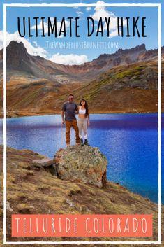 Ultimate Day Hike - Telluride Colorado | The Wanderlust Brunette