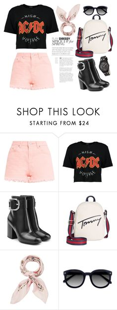 """""""Untitled #29"""" by enamorado-dina ❤ liked on Polyvore featuring Boohoo, Alexander Wang, Tommy Hilfiger, Manipuri, Ace and Nine West"""