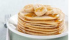Fructosearme Bananen-Pancakes