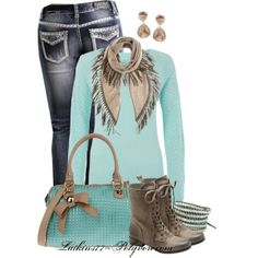A fashion look from December 2013 featuring long-sleeve crop tops, flare jeans and military boots. Browse and shop related looks. Fashion Moda, Love Fashion, Fashion Outfits, Womens Fashion, Winter Wear, Autumn Winter Fashion, Swagg, Fashion Boutique, Passion For Fashion