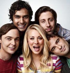 The Big Bang Theory cast - Jim Parsons, Kaley Cuoco, Johnny Galecki, Kunal Nayyar, & Simon Helberg