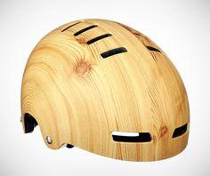Mission Bicycle Woodgrain Helmet