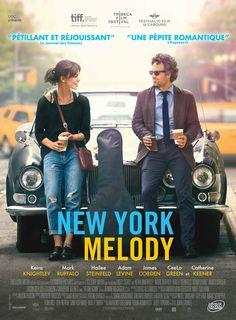New York Melody est un film de John Carney avec Keira Knightley, Mark Ruffalo. Synopsis : Gretta et son petit ami viennent de débarquer à NYC. La ville est d'autant plus magique pour les deux anglais qu'on leur propose de venir y vivre plei