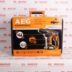 AEG POWERTOOL SBBH12 LI-402C Nueva E291007 | Tienda online de segunda mano en Barcelona Re-Nuevo Sds Plus, Barcelona, Branding, Age, Shopping, Tools, Store, Brand Management, Barcelona Spain