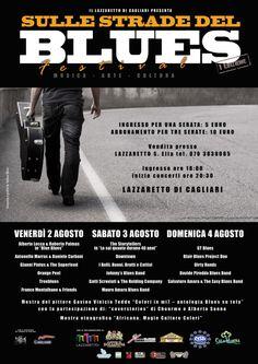 1° EDIZIONE SULLE STRADE DEL BLUES – LAZZARETTO – CAGLIARI – 2-3-4 AGOSTO 2013